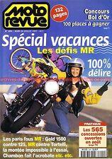 MOTO REVUE 3291 HONDA NSR 125 GL 1500 GOLD WING SUZUKI Bandit Stéphane CHAMBON