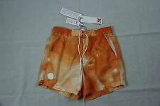 Lacoste L!VE Orange Drawstring Swim Trunk MH9821 Sz. S BNWT Authentic