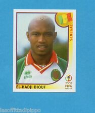 KOREA/JAPAN 2002-PANINI-Figurina n.59- DIOUF - SENEGAL -NEW BLUE BACK