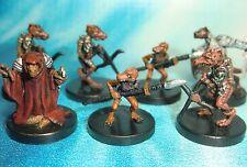 Dungeons & Dragons Miniatures Lot  Kobold Warrior Kobold Sorcerer !!  s104