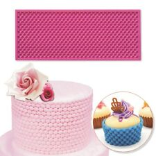 Pearl Mat 250x100mm Cake Lace Mould Fondant Silicone Molds For Cake Decorating