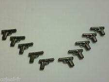 playmobil lot de 10 Pistolet Police voleur bandit