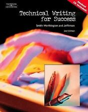 Technical Writing for Success by Sue Jefferson and Darlene Smith-Worthington...