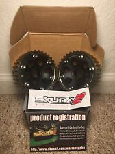 SKUNK2 BLACK SERIES ADJUSTABLE CAM GEARS: HONDA ACURA B16 B18 B20 B-SERIES DOHC