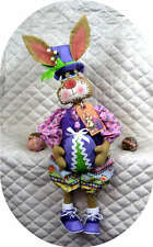 "Primitive Easter~""HOPPIN' HARRY""~24"" Bunny PATTERN #267 ~ Ginger Creek Crossing"