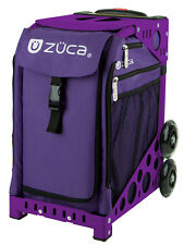 ZUCA Bag REBEL Insert & Purple Frame w/Flashing Wheels - FREE SEAT CUSHION