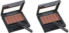 Lot of 2 New Revlon Satin Eye Shadow Shimmering Sienna 015 0.08 oz x 2