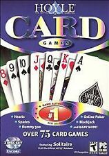 Video Game PC Hoyle Card Games 75 Poker Blackjack Etc NEW Box not sealed