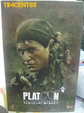 In Stock! Hot toys MMS 141 Platoon 1/6 Sergeant Bob Barnes Tom Berenger Figure
