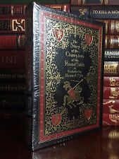 Easton Press Story of the Champions of Round Table by Howard Pyle Sealed Leather