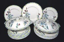 Art Deco China Dinner Service, H&K Tunstall, 1930s, 20 Pieces, VGC