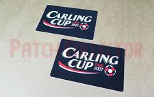 Football League Cup Carling Cup 2007 Final Soccer Patch / Badge