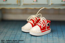 BHC Red Big Toe Sneaker for Kenner Blythe doll / Pullip / DAL - FW186