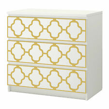 Overlays suitable for Ikea Malm Chest of Drawers 80cmX20cm with 5mm thickness