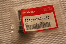 HONDA HS724 HS80 SNOW BLOWER LOCK BOLT GENUINE 90102-732-010