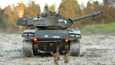 2.4g RC USA m41a3 RC 1:16 Heng Long WALKER BULLDOG TANK CARRO ARMATO DELL'ESERCITO FUMARE BATTAGLIA