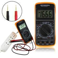 Digital DT9205A Multimeter AC DC Ammeter Resistance Capacitance Volt LCD Tester