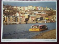 POSTCARD BRISTOL FERRY - CITY DOCKS