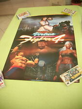 VIRTUA FIGHTER IV 4 SEGA ARCADE B1 SIZE OFFICIAL POSTER!