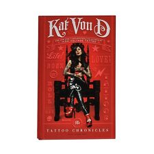 The Tattoo Chronicles SIGNED by Kat Von D Rooftop and Dan BRAND NEW 1st Edition