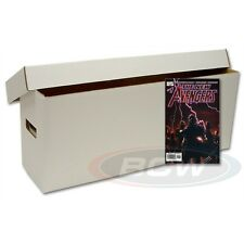 Long Comic Cardboard Storage Box  -SET OF 10-