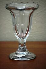 One Anchor Hocking Replacement Tulip Shape Ice Cream Sundae Glass Dish 5.5 OZ