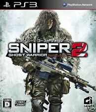 Used PS3 Sniper: Ghost Warrior 2 SONY PLAYSTATION 3 JAPAN JAPANESE IMPORT