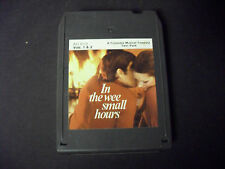 In The Wee Small Hours Volumes 1&2-Various Artists 8-Track Tape-Good Condition