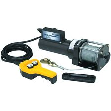 1500 Lb. Capacity 120 Volt 35 Foot Cable Remote Controlled AC Electric Winch
