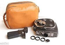*1964* ● KMZ QUARZ 1 Jupiter-24 f1.9 Movie camera ' 2x8 ' ● Accesorios y funda