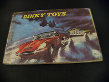 catalogue Dinky Toys Suisse Switzerland 1962