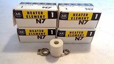 NEW IN BOX LOT OF 4  ALLEN BRADLEY N7 OVERLOAD HEATER