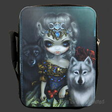 LOUP GAROU Strangeling Wolf Art Cool Bag / Lunch Box By Jasmine Becket-Griffith