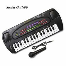 Electronic Keyboard Musical Instrument Kids Organ Mic Birthday Gift + Microphone