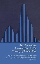 Dover Books on Mathematics Ser.: An Elementary Introduction to the Theory of...