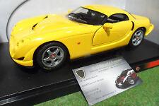 TVR SPEED 12 Jaune European series au 1/18 HOT WHEELS B4171 voiture miniature