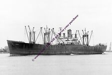 mc1494 - USA Cargo Ship - Choctaw , built 1943 - photo 6x4