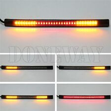 Flexible Universal 48LED Motorcycle Car Tail Brake Stop Turn Signal Light Strip