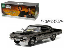 1967 CHEVROLET IMPALA SEDAN BLACK CHROME SUPERNATURAL 1/18 GREENLIGHT 19024