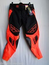 "Men's adult motocross pants FLY EVOLUTION ""CLEAN"" size 30, blk/org  368-13830"