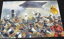 Military Uniforms Samurai Invasion of Korea Large Postcard
