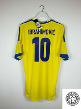 Sweden IBRAHIMOVIC #10 2013 *BNWT* Home Football Shirt (L) Soccer Jersey Adidas