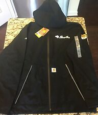 Carhartt Force Equator Rain Jacket, Bass Cat Boats logo, Medium, Black