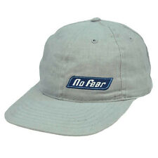 No Fear Sports Gear Skateboard Vintage Hat Cap Flat Bill Adjustable Relaxed Fit