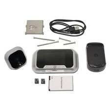 Smart R01S Digital Door Viewer Home Security Audio Infrared Video Camera Record