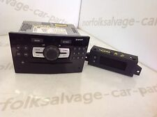 Vauxhall Corsa D Cd Radio With Display Black Front 05-10