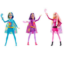 Barbie Princess Power Super Sparkle dolls POWER, FIRE & WATER New in Box