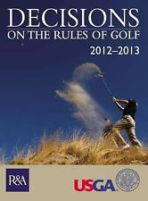 Decisions on the Rules of Golf 2012-2013 - VeryGood - United States Golf Associa