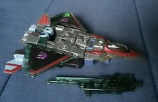 Transformers ENERGON STARSCREAM ALMOST COMPLETE 2004