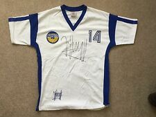 Johan Cruyff LA Aztecs signed genuine big signature shirt UACC Registered Dealer